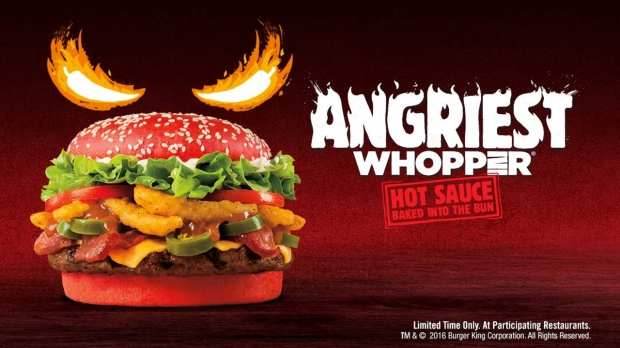 Angriest Whopper promotional picture
