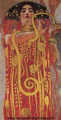 Hygieia - Gustav Klimt