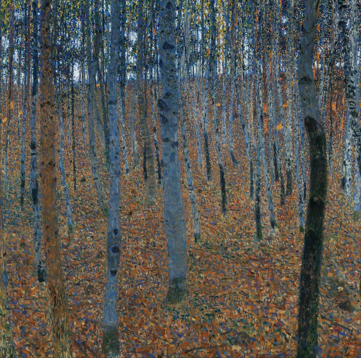 Beech Grove I - Gustav Klimt