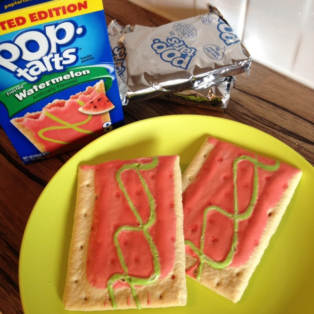 Limited Edition US Import watermelon flavour pop tarts