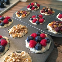 Breakfast in advance: Porridge Pucks